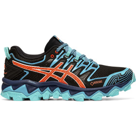 asics Gel-FujiTrabuco 7 G-TX Shoes Women black/aquarium